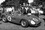 57523 - Doug  Whiteford Maserati 300s - Albert Park 1957 - Photographer Peter D Abbs