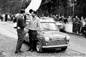 62105 - Peter Manton  Morris 850 - Templestowe Hillclimb 1962 - Photographer Peter D Abbs