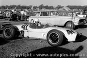 62527 - Ron Flockhart Lotus 18  - Sandown 1962  - Photographer  Peter D Abbs