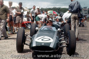 62531 - Bruce McLaren Cooper  - Lakeside 1962 - Photographer Laurie Johnson