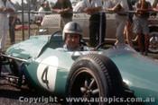 63543 - Jack Brabham -  Warwick Farm -  10th Feb. 1963  - Photographer Laurie Johnson