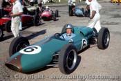 63546 - B. Stillwell Brabham  -  Warwick Farm -  10th Feb. 1963  - Photographer Laurie Johnson
