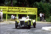 64101 -  Vaughan Gibson - MG TC  Supercharged Special, known as  Buttercup  - Lakeland Hillclimb 3rd November 1964 - Photographer  Peter D Abbs