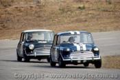 66051 -  Peter Manton  / Brian Foley Morris Cooper S - Lakeside  1966 - Photographer John Stanley