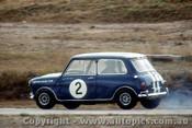 66052 -  Peter Manton   Morris Cooper S - Lakeside  1966 - Photographer John Stanley