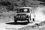 70975 - B. Culcheth / R. Bonhomme  Morris Cooper S -  Rally of the Hills  October 1970- Photographer Lance Ruting