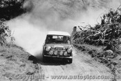 70979 - R. Cowan / B. Hope  Morris Cooper S -  Rally of the Hills  October 1970 - Photographer Lance Ruting