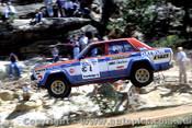 79958 - Datsun Stanza - Southern Cross Rally Port Macquarie 1979- Photographer Lance Ruting