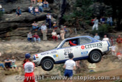 79960 - Peter Nelson  / Greg Nelson  Mitsubishi Lancer - Southern Cross Rally Port Macquarie 1979- Photographer Lance Ruting