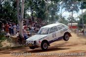 79962 - Wayne Griffiths / Tim Francis Honda Civic - Southern Cross Rally Port Macquarie 1979 - Photographer Lance Ruting