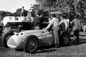 56504 - O. Bailey Largo Talbot - Australian Grand Prix, Albert Park 1956 -  Photographer Peter D Abbs