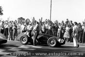 56505 - Lex Davison Ferrari - Australian Grand Prix, Albert Park 1956 -  Photographer Peter D Abbs