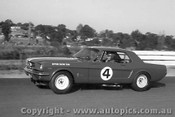 65034A - Norm Beechey - Ford Mustang - Sandown 1965 - Photographer Peter D Abbs