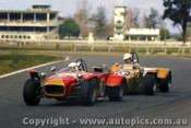 71479 - R. Kaleda  Lotus Super 7 / C. Haig Welsor Ford  -  Warwick Farm  5th September 1971  - Photographer Jeff Nield