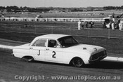 63017 -  D. Algie -  Ford Falcon  - Sandown 1963 - Photographer Peter D Abbs