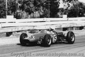 63555 - Frank Matich - Elfin - Sandown International -  11th  March 1963 - Photographer Peter D Abbs