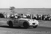 62412 - R Sorenson - Austin Healey Sprite - 9/9/1962 - Calder - Photographer Peter D Abbs