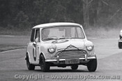 66055 - N. Harlow - Morris Cooper S - Warwick Farm 4th December 1966 - Photographer Lance J Ruting