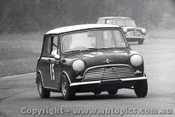 66056 - B. Jackson - Morris Cooper S - Warwick Farm 4th December 1966 - Photographer Lance J Ruting