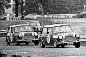 66061 -  D. Holland / R. Holden - Morris Cooper S - Warwick Farm 4th December 1966 - Photographer Lance J Ruting