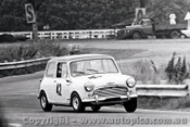 66062 -  R. Vines - Morris Cooper S - Warwick Farm 4th December 1966 - Photographer Lance J Ruting