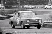 66071 - D.  White  - Renault R8 - Warwick Farm 4th December 1966 - Photographer Lance J Ruting