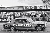 69771 - John Goss / Denis Cribbin - XW Ford Falcon GTHO - Bathurst 1969 - Photographer Lance Ruting