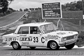 69789 - Christine Cole / Lynne Keefe - Fiat 125 - Bathurst 1969 - Photographer Lance J Ruting