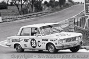 69792 - Bob Forbes / Peter Finlay - Fiat 125 - Bathurst 1969 - Photographer Lance J Ruting