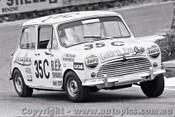 69798 - Trevor Meehan / Mal Brewster - Morris Cooper S - Bathurst 1969 - Photographer Lance J Ruting