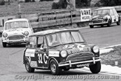 69799 - Ian Hindmarsh / Bill Stanley - Morris Cooper S - Bathurst 1969 - Photographer Lance J Ruting
