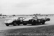 70477 - G Cesario - Fiat Abarth - B Sampson - Triumph Spitfire - 22/3/1970 - Calder - Photographer Peter D Abbs
