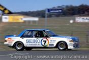 82753 - B. Morris / J. Fitzpatrick  Ford Falcon XE - Bathurst 1982  - Photographer Lance J Ruting