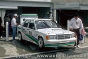 87778  - P. Ward / C. Clerihan - Mercedes Benz 190E 16  - Bathurst 1987  - Photographer Peter Green