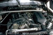 87779  - P. Ward / C. Clerihan - Mercedes Benz 190E 16  - Bathurst 1987  - Photographer Peter Green