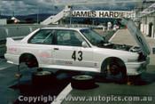 87780  - W. Volt / A. Heger / O. Grouillard - BMW M3  - Bathurst 1987  - Photographer Peter Green