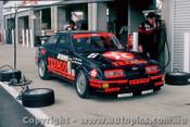 87784  - K. Ludwig / K.Niedzwidz -Texaco Ford Sierra  - Bathurst 1987  - Photographer Peter Green