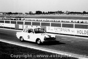 64064 - Bob Jane & George Reynolds  Ford Cortina GT - Sandown 6 Hour International  29th November 1964  - Photographer  Peter D Abbs