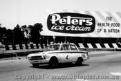 64065 - A. Moffat / J. Leighton  Ford Lotus Cortina GT - Sandown 6 Hour International  29th November 1964  - Photographer  Peter D Abbs