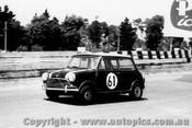 64069 - T. Makinen / R. Altonen - Morris Cooper S - Sandown 6 Hour International  29th November 1964  - Photographer  Peter D Abbs