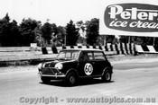 64070 - P. Hopkirk / J. Fitzpatrick - Morris Cooper S - Sandown 6 Hour International  29th November 1964  - Photographer  Peter D Abbs