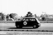 64071 -  P. Manton / B. Foley Morris Cooper S - Sandown 6 Hour International  29th November 1964  - Photographer  Peter D Abbs