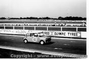 64072 -  L. Stewart / B. Rossiter - Morris Cooper S - Sandown 6 Hour International  29th November 1964  - Photographer  Peter D Abbs