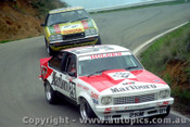 79777  - John Harvey / Ron Harrop  - Holden Torana A9X - Peter Williamson / Mike Quinn - Toyota Celica - Bathurst 1979 - Photographer Lance J Ruting