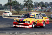 84049 - P. Janson / G. Rogers -  Holden Commodore VK  - 1984 Sandown - Photographer Peter D Abbs