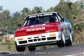 89042 - Jim Richards - Nissan Skyline - Lakeside 1989