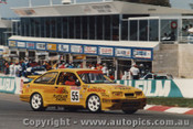 89806 - K. Waldock / B. Thompson  -  Ford Sierra RS500 - Bathurst 1989