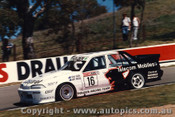 89825 - T. Mezera / L. Perkins - HRT Commodore VL -  Bathurst 1989