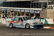 89826 - C. O Brien / B. Sampson - Holden Commodore VL -  Bathurst 1989