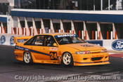 95737 - P. Romano / T. Dunston  Holden Commodore VP - Bathurst 1995